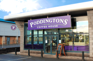 Poddingtons coffee shop – Edinburgh