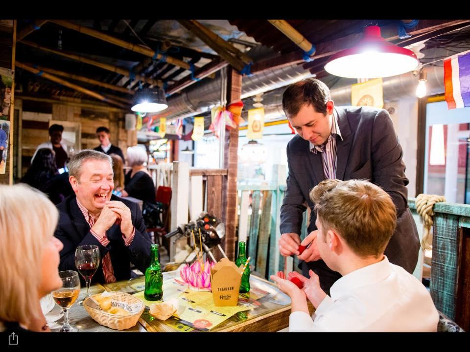 Restaurant Magician Nottingham