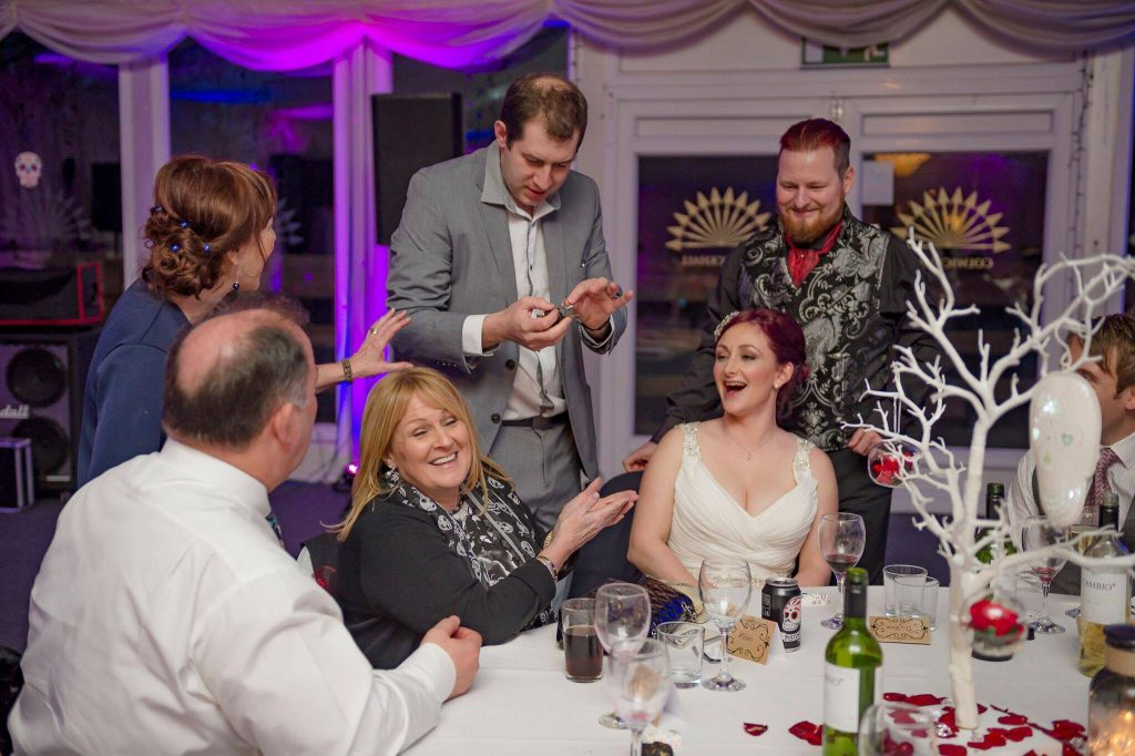 Wedding magician Northampton