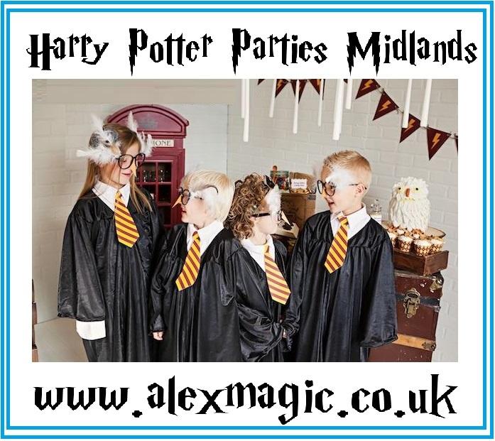 Harry Potter Parties Nottingham