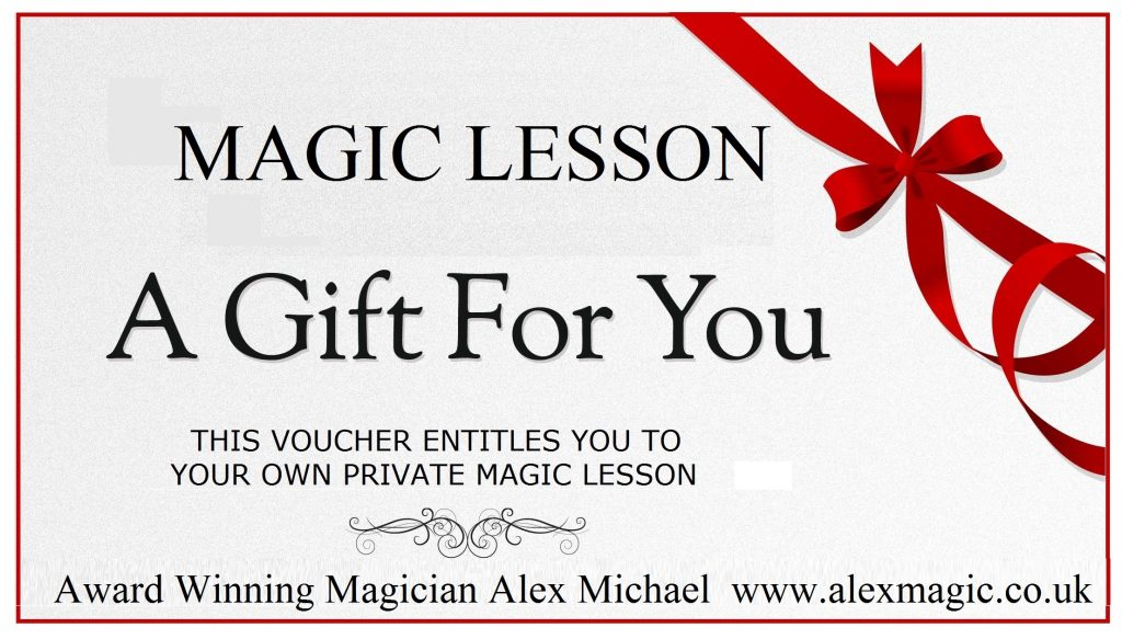 Online Magic Lesson