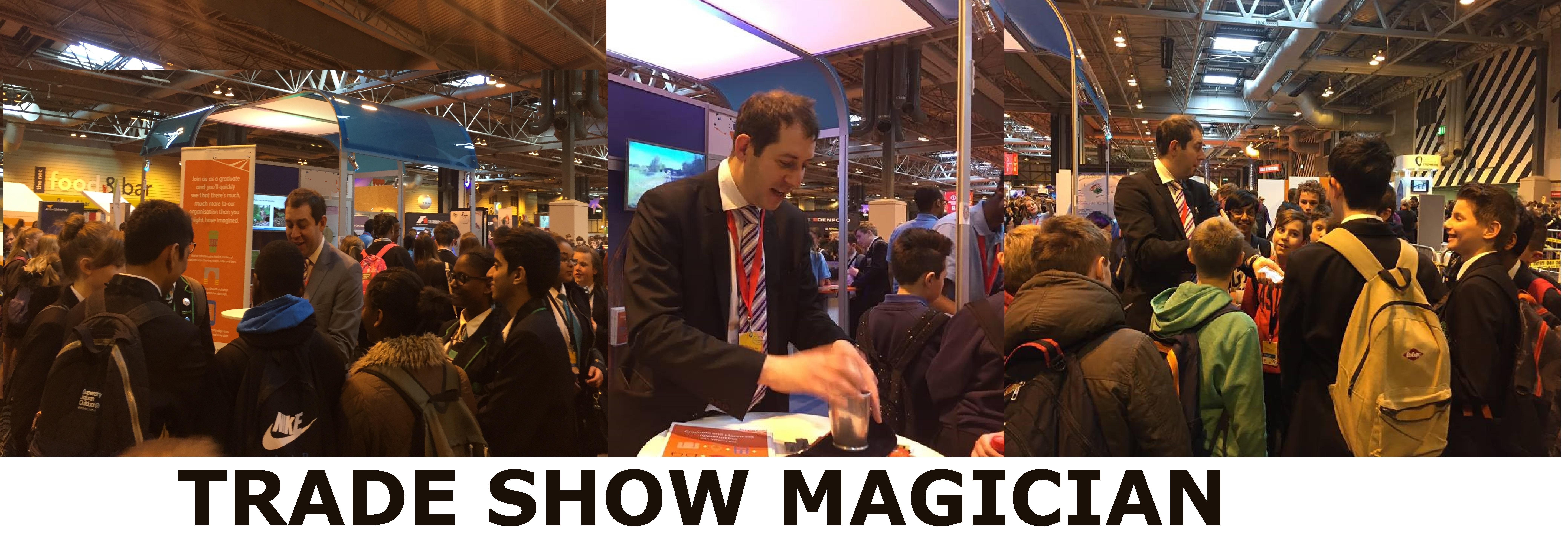 Trade Show Magician Birmingham