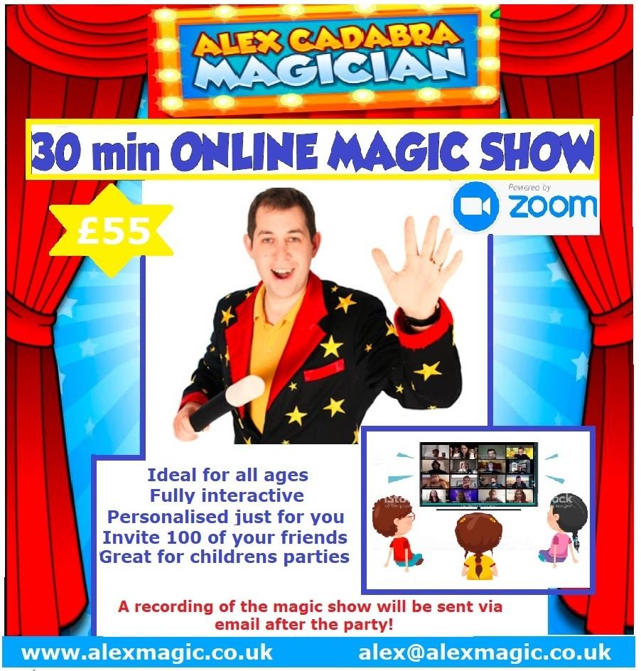 online magic show